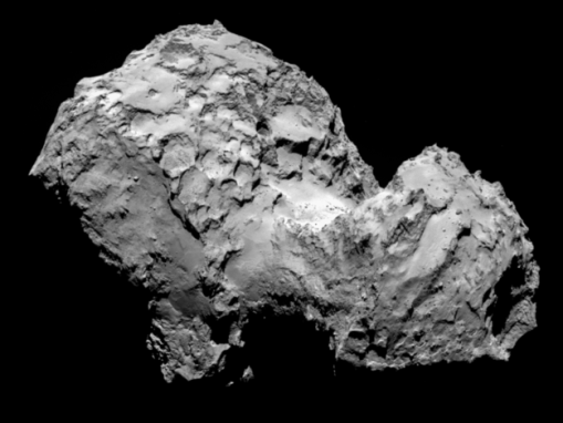 Comet 67P/Churyumov-Gerasimenko on August 3, 2014